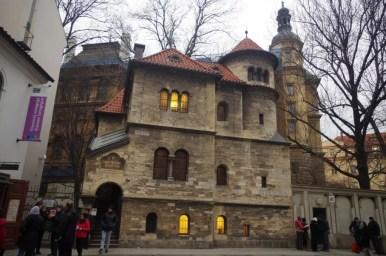 żydowski dom obrzędowy na praskim josefovie w czechach