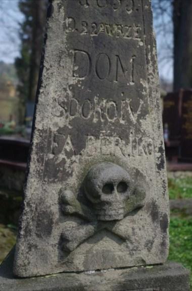 motyw vanitas na cmentarzu przy kościółku świętego leonarda w lipnicy murowanej
