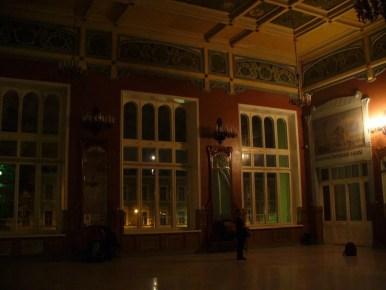 wnętrze dworca witebskiego w sankt petersburgu w rosji