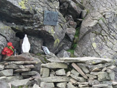 ołtarzyk pod szczytem diablaka, babiogórski park narodowy