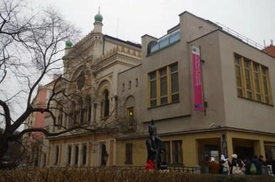 synagoga hiszpańska na praskim josefovie w czechach