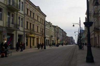 najdłuższa i najbardziej znana ulica łodzi - piotrkowska