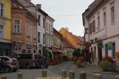ulica presernova w ptuju w słowenii