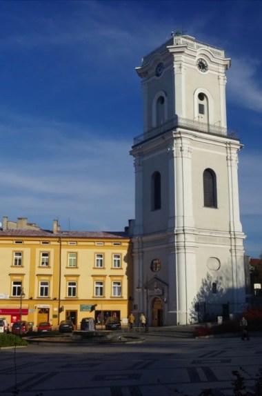wieża zegarowa i muzeum dzwonów i fajek w przemyślu