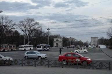 główna ulica kiszyniowa w mołdawii, bulwar świętego stefana wielkiego