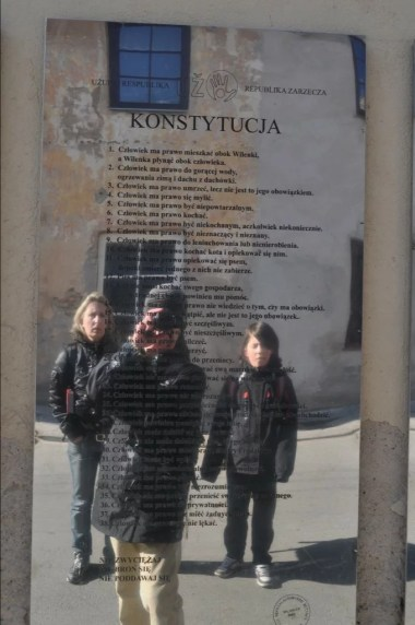 konstytucja republiki zarzecza w wilnie na litwie