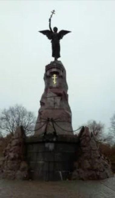 pomnik rusałki w tallinie w estonii