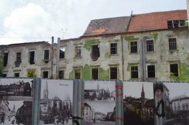 rudery przy ulicy kapitulskiej w bratysławie w słowacji