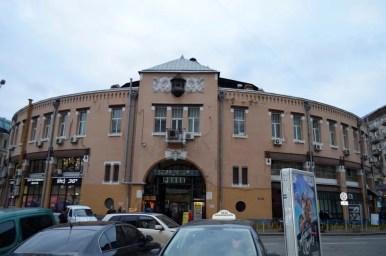 rynek besarabski w kijowie na ukrainie