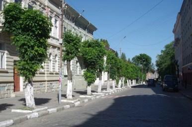 ulica szewczenki w drohobyczu na ukrainie