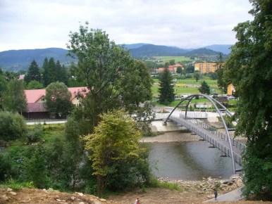 most na sole w węgierskiej górce w beskidzie śląskim