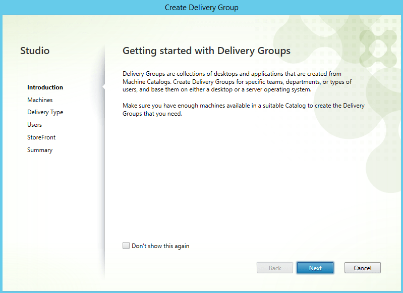 First Look: XenApp/XenDesktop 7.6 – Part 6 (Delivery Groups creation) (3/6)