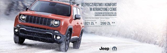 Jeep Renegade –jednostkowa cena
