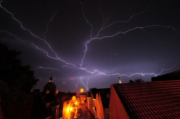 Thunderstorm and Lightning