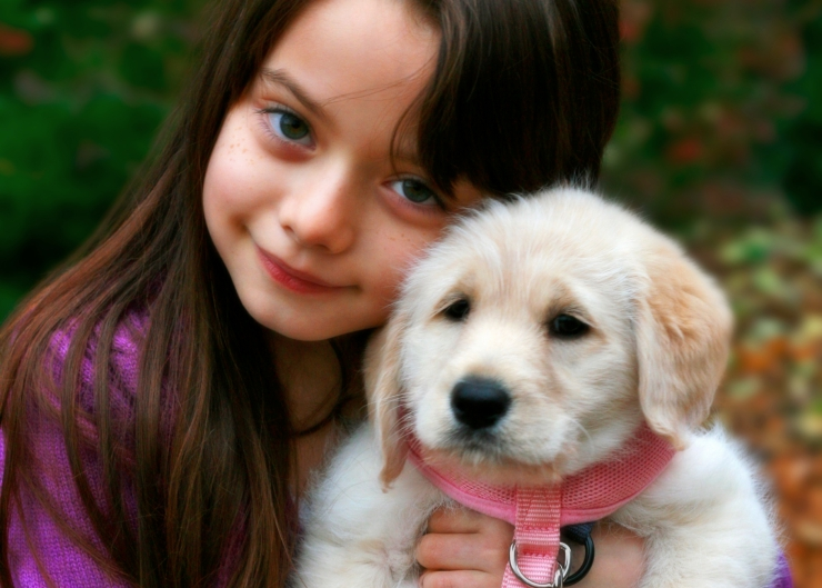 Having a pet encourages children to think about things from a perspective other than their own, and helps them to be more considerate of the feelings and needs of others | Five Ways that Having a Pet Can Assist Your Child's Development