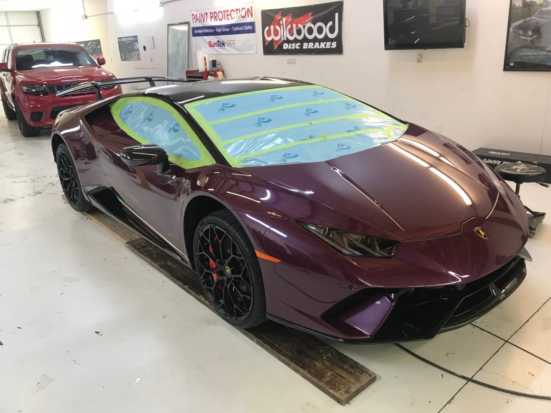 Lambo Full Clear Bra Wrap
