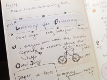 """Notes from Carol Jago's """"Literacy for Democracy"""""""