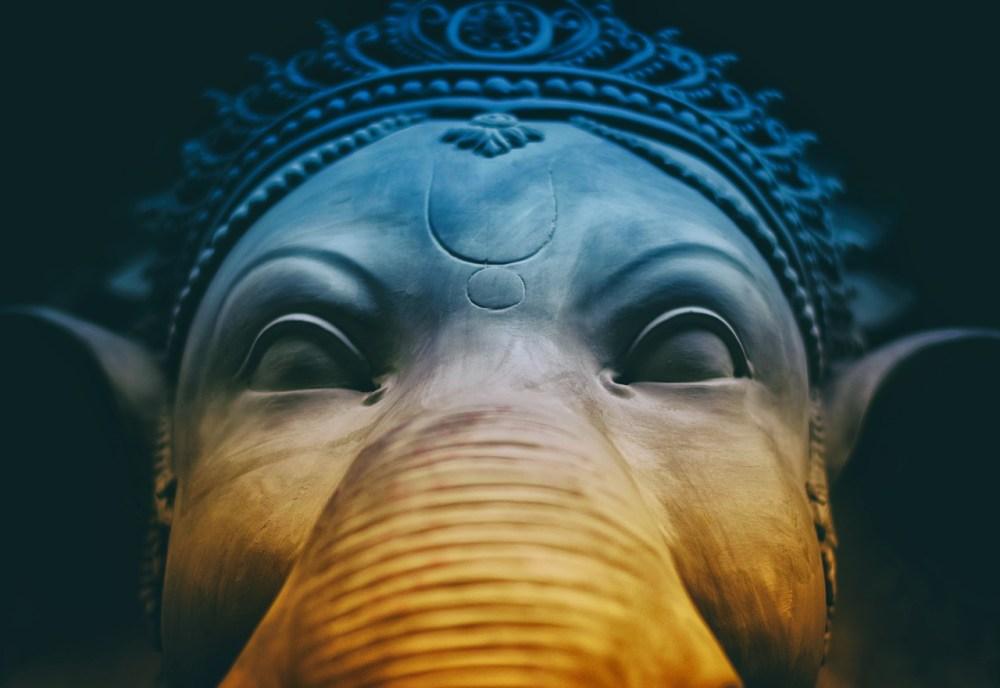 ganesha, hindu, god