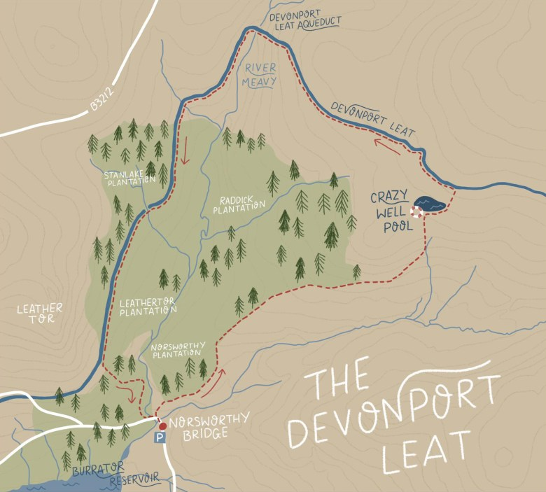 Devonport Leat Route | Paws and Tors