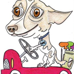 Rolly Top Art Pet Caricatures - on Etsy