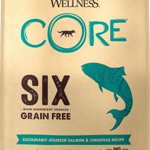 Wellness CORE SIX Grain Free Dog Food - Single Protein - Salmon