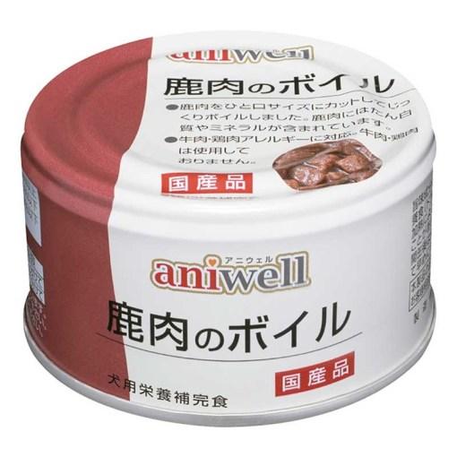 aniwell 鹿肉罐, 鹿肉, 鹿肉罐, 低脂狗糧, 低脂罐頭