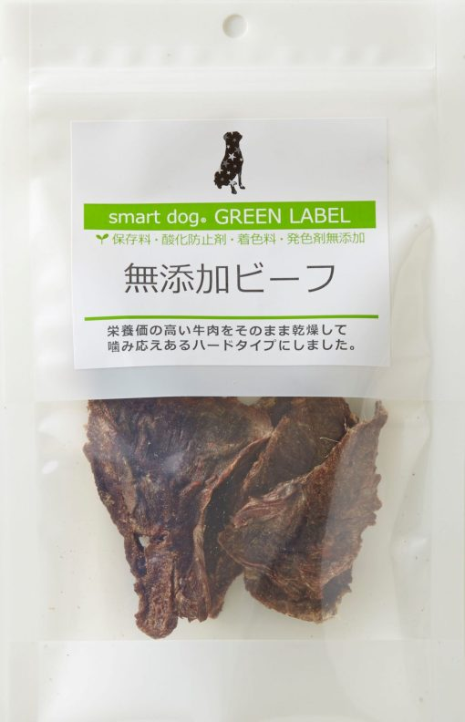 日本 Smart Dog 牛肉乾 無添加