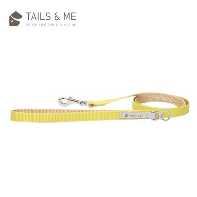 Tails and Me Classic Nylon 經典尼龍系列|牽繩|檸黃卡其