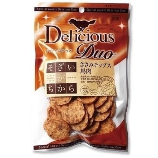 Delicious Duo 馬肉薄片 50g