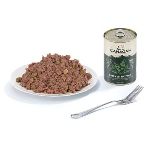 Canagan (原之選) 天然無穀物狗罐頭 - 雞肉成犬配方 400g