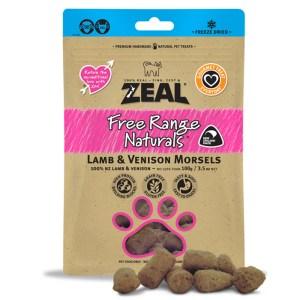 Zeal – 冷凍脫水羊、鹿小食 100g