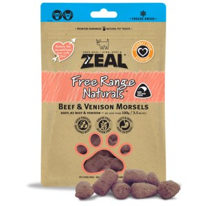 Zeal – 冷凍脫水 牛、鹿肉 小食 100g