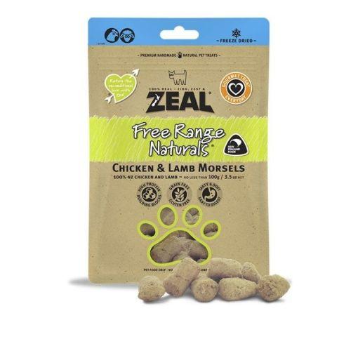 Zeal – 冷凍脫水 羊、雞肉 小食 100g