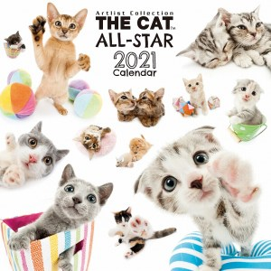 2021 Japan The Cat All-Star Calendar 全明星貓日曆