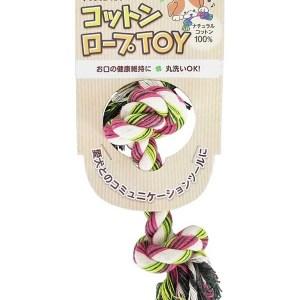 Pet Pro Japan 天然棉繩玩具 彩虹色