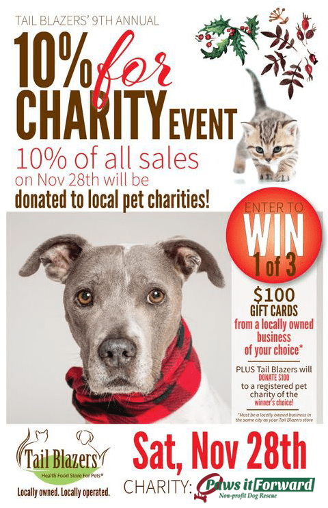 10% For Charity