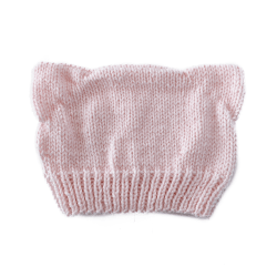 Light Pink Cat Ear Hat
