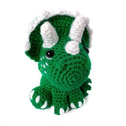 grass green triceratops