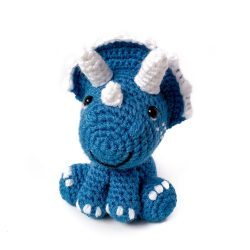 Dolphin Blue Triceratops