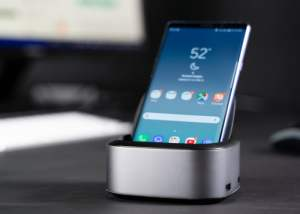 NuDock transforms your smartphone into a PC