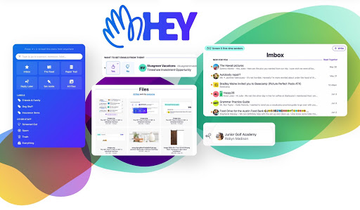 HEY IS A WILDLY OPINIONATED NEW EMAIL SERVICE FROM THE MAKERS OF BASECAMP