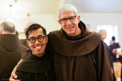 Me with Fr. Ron Pecci