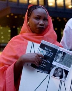 Darfur demonstration