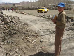 Zekerullah going to school in Bamiyan.