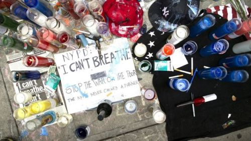 072114-National-EMS-Workers-Placed-On-Restricted-Duty-Following-Eric-Garner-s-Death