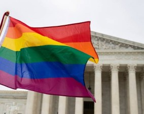 Supreme Court LGBTQ file photo