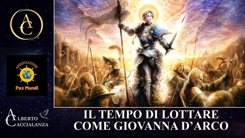 Giovanna d'Arco e San Michele Arcangelo