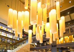 spectacular interior at Melt, upscale Italian inspired restaurant at Promenade Center in Center Valley