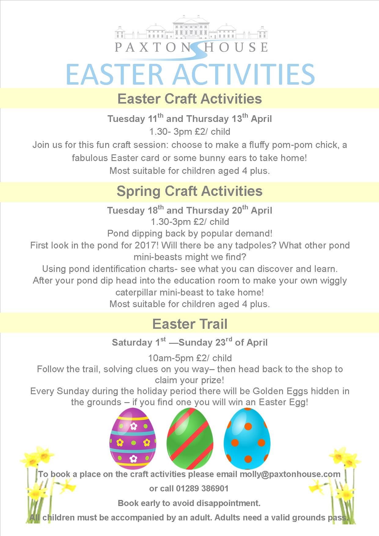 Kids Easter Activities