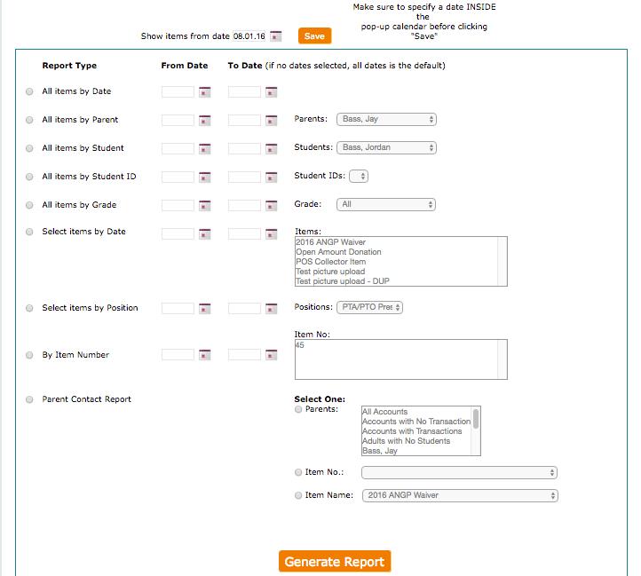 Pay4SchoolStuff New Features